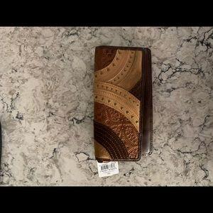 Beautiful boho Fossil wallet